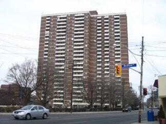 image of apartment block in Toronto