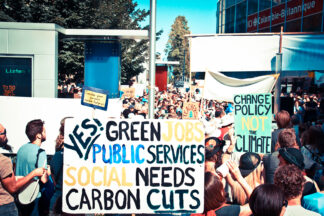 image of 2014 Climate Change demonstration in Vancouver