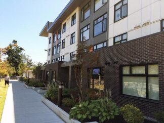 Image of 68 unit affordable housing project in Victoria British Columbia