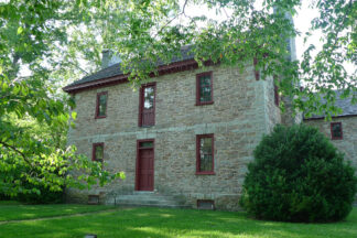 Image of historic stone house in Knoxville Kentucky