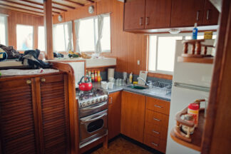 image of compact kitchen