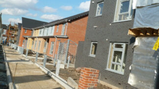 image of housing under construction