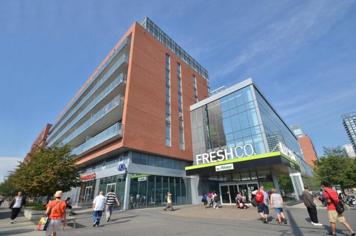 image of new apartment building in Regent Park, Toronto
