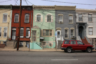 Image of housing in Newark, New Jersey