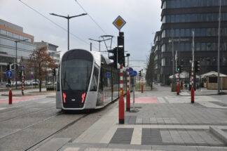 Public transit vehicle, Luxembourg