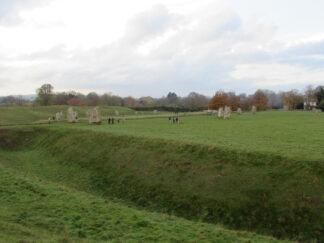 stone circle in Avebury England