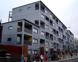 five storey apartment building