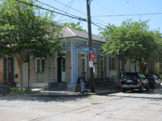 home in Treme, New Orleans