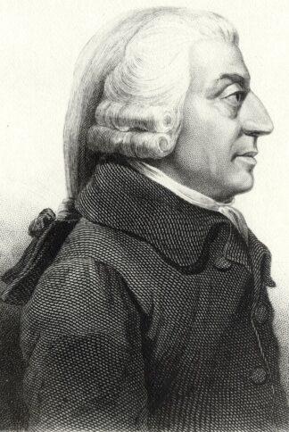portrait of Adam Smith