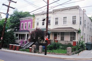 housing in Anacostia, Washington D.C.