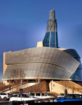 external view of Canadian Museum for Human Rights