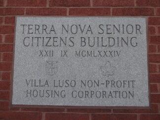 cornerstone for senior's housing complex in Toronto