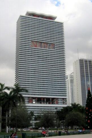 High rise condomium development in downtown Miami