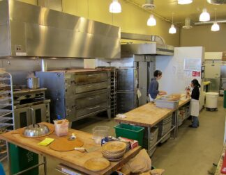 commercial bakery interior