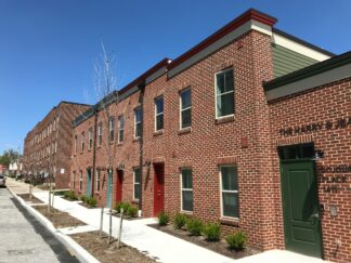 Permanent supportive townhousing for people who are homeless in Baltimore