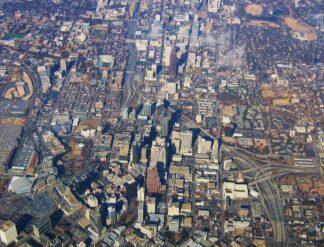 Air Photo of Downtown Atlanta, Georgia