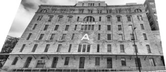 Pillsbury A factory building in Minneapolis before restoration and conversion to LEED standard affordable housing for artists