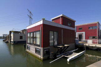 floating house, Amsterdam