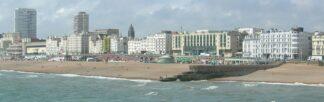 Brighton, England waterfront