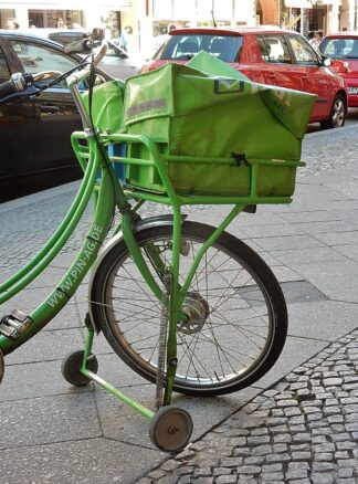 bike used by courier