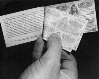 Food stamps, circa 1941