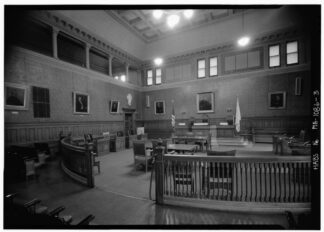 council chamber, Cambridge Ma.