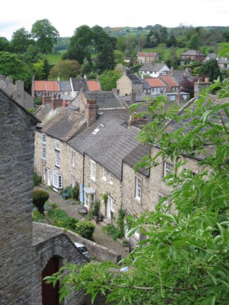 view of housing in Richmond, North Yorkshire