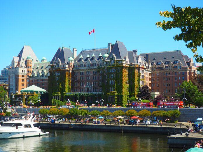 The EmpressHotel, Victoria, B.C.