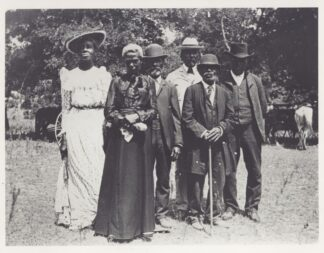black people celebrating emancipation day, June 19, 1900