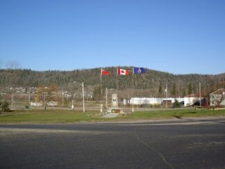 view of Manitouwadge Cenotaph