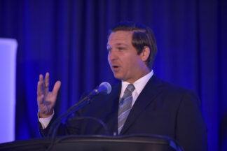 head shot of Florida Governor Ron DeSantis