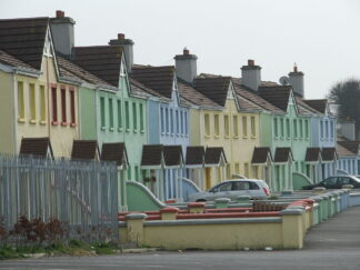 12 houses on an estate in Athy, Ireland