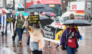 poor people campaign march in Columbus Ohio