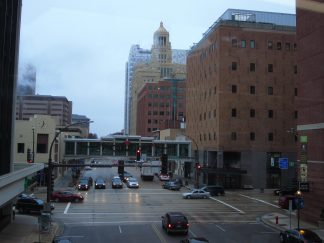 Downtown view of Rochester, Minnesota
