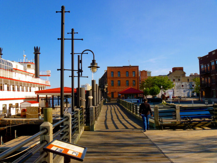 Waterfront picture of Wilmington North Carolina