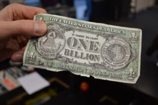 one billion dollar bill
