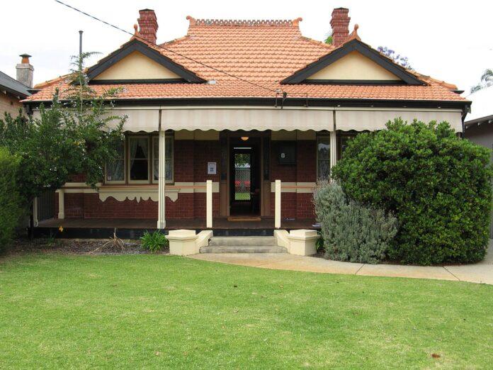house built for World War I veteran
