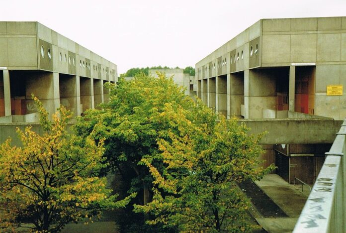 Southgate Estate in 1989. The project is now demolished.