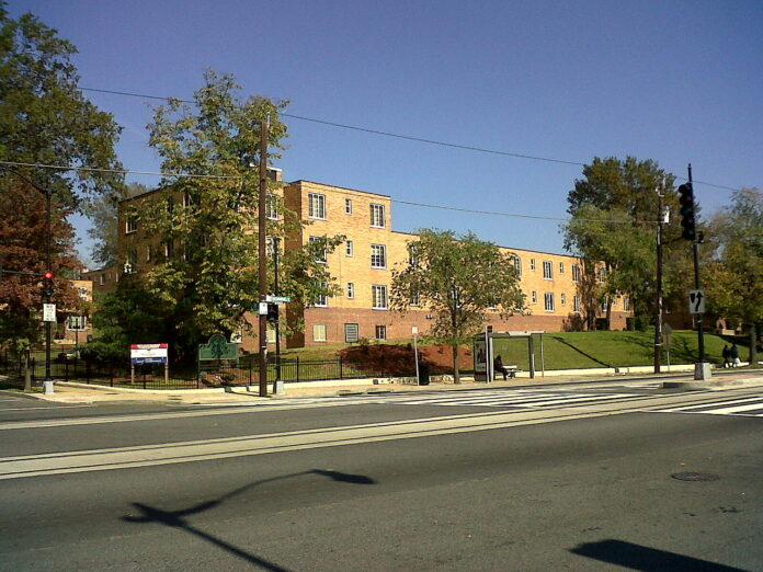 early public housing project in Washington DC