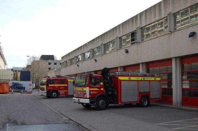 Briston fire-rescue vehicles