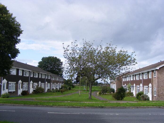 terraced houses in UK