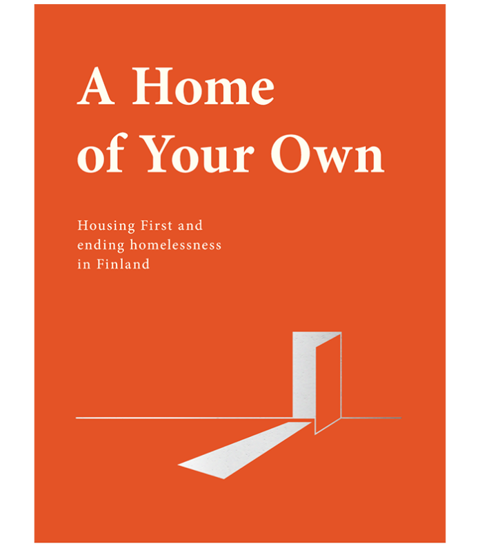 white text on orange handbook cover saying 'a home of your own'