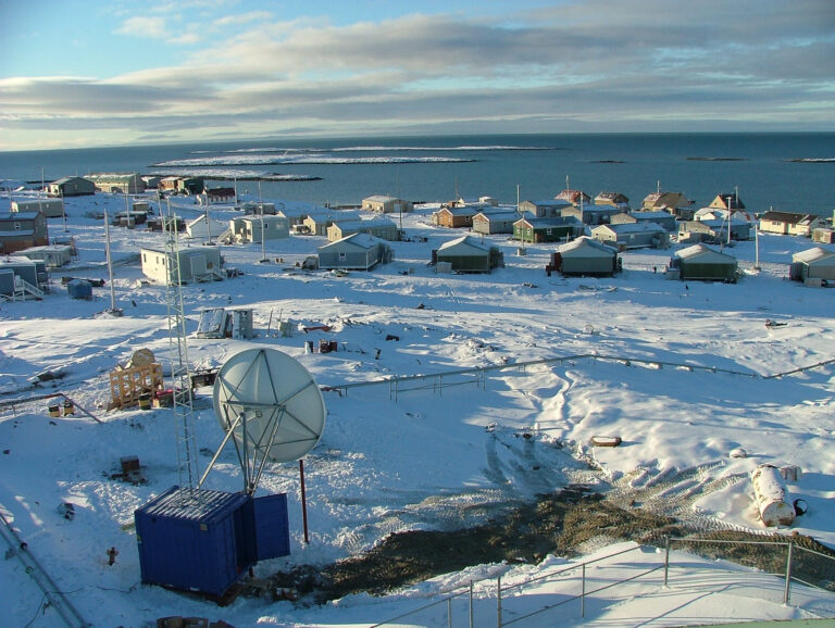 Canadian Arctic Housing: Cozy On The Outside. Now Have A Look Inside