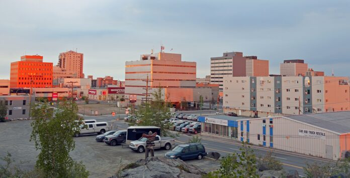 downtown Yellowknife, North-West Territories